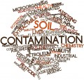 Abstract word cloud for Soil contamination with related tags and terms